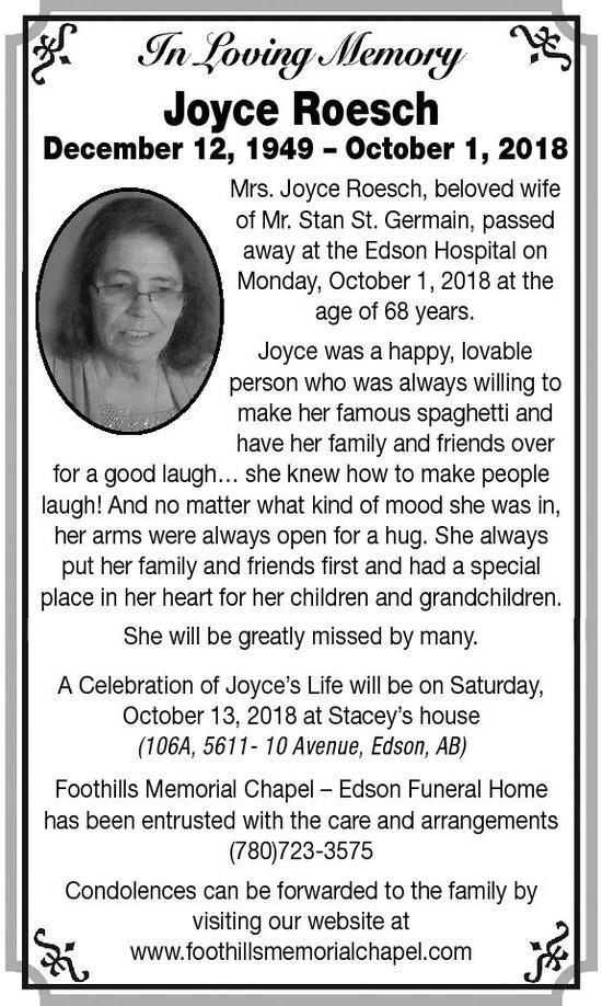 obituaries edson leader