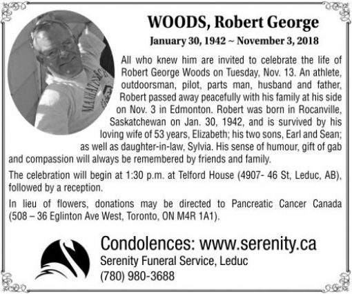 Robert George  WOODS