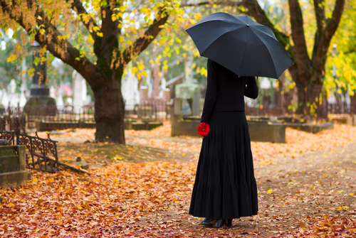 Why Do Mourners Wear Black to a Funeral?