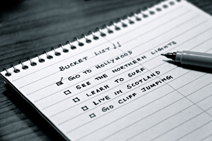 What's on Your Bucket List? Americans Weigh in on What's Important Before They Die.